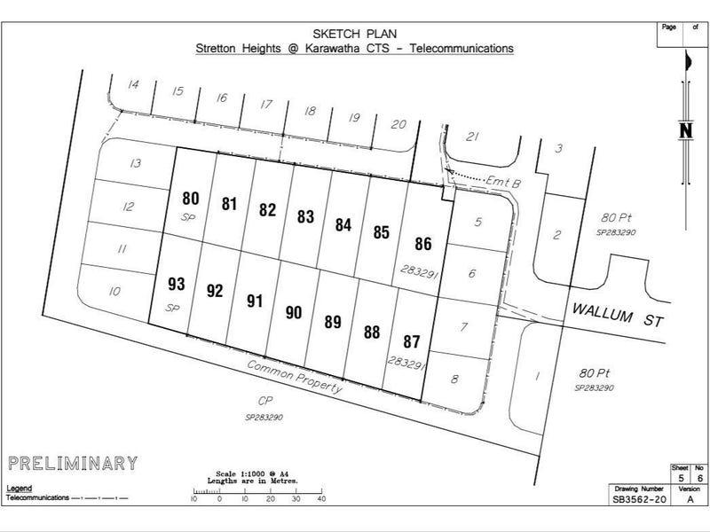 Lot 82, 48 Wallum Street, Karawatha, Qld 4117