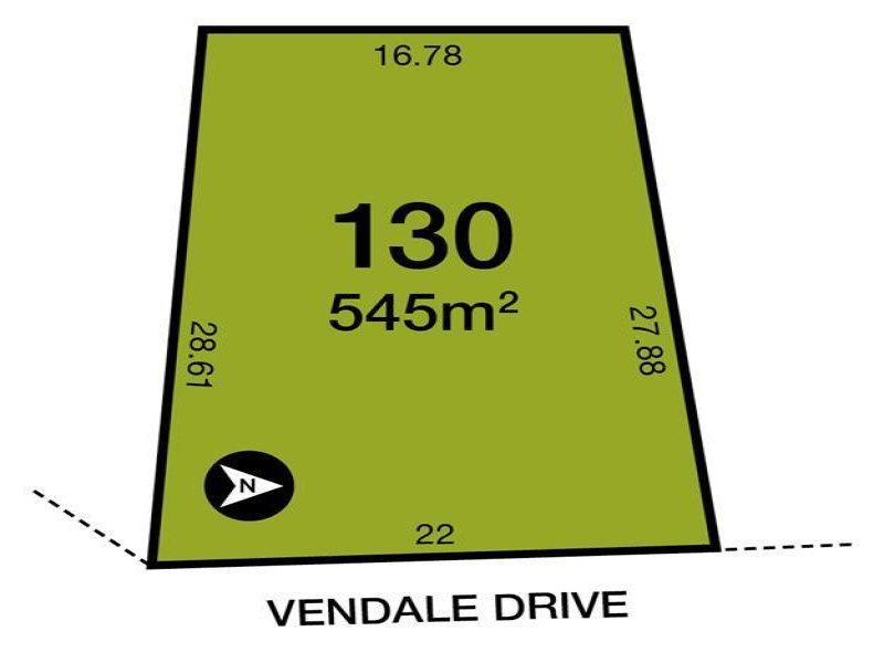 Lot 130 Vendale  Drive, Flagstaff Hill, SA 5159
