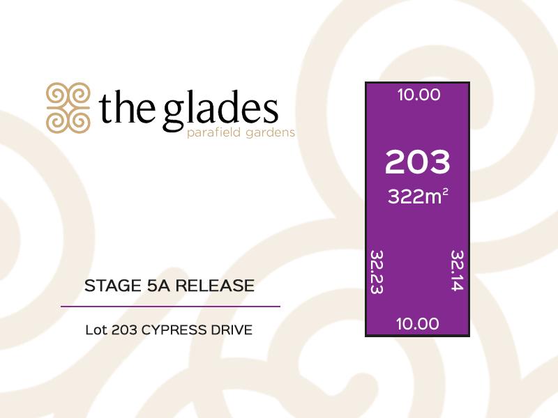 Lot 203 Cypress Drive, Parafield Gardens, SA 5107