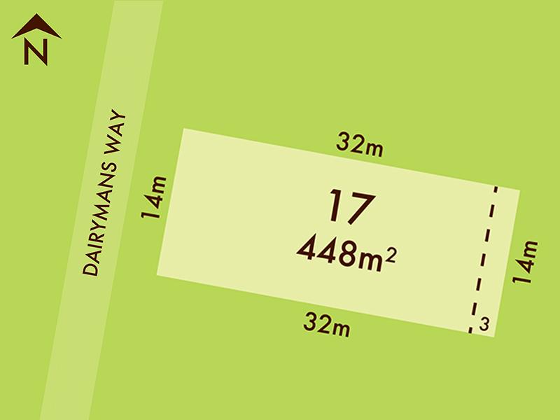 Lot 17, 23 Dairymans Way, Bonshaw, Vic 3352
