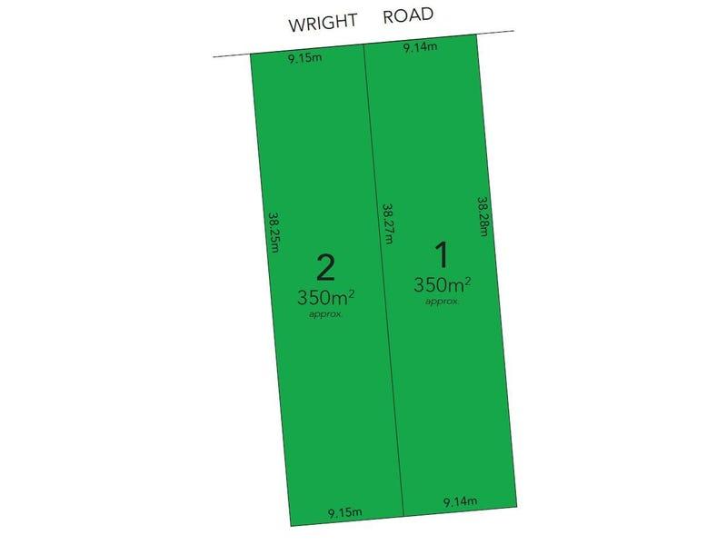 Lot 1 & 2, 353 Wright Road, Valley View, SA 5093