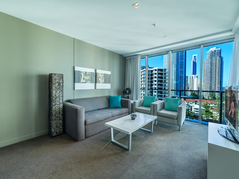 1205/18 Enderely Avenue, Surfers Paradise, Qld 4217