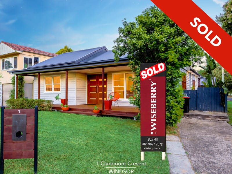 1 Claremont Crescent, Windsor, NSW 2756