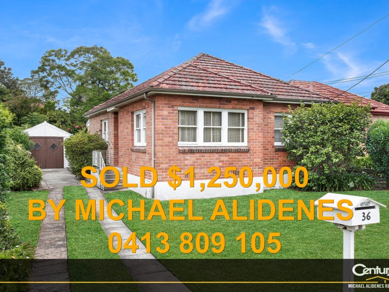 36 Monaro Avenue, Kingsgrove, NSW 2208