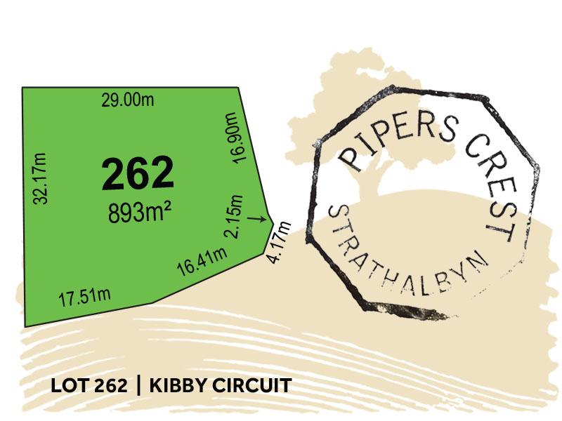 Lot 262, Kibby Circuit, Strathalbyn, SA 5255