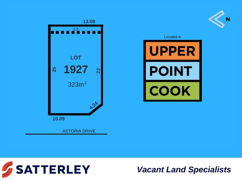 Lot 1927, Astoria Drive, Point Cook, Vic 3030