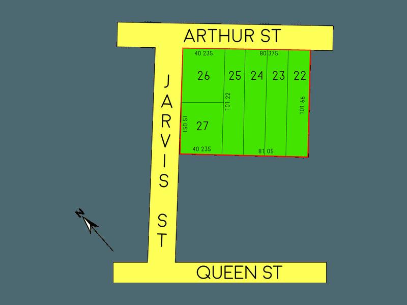 Lot 22-27, Arthur / Queen st, Binda, NSW 2583