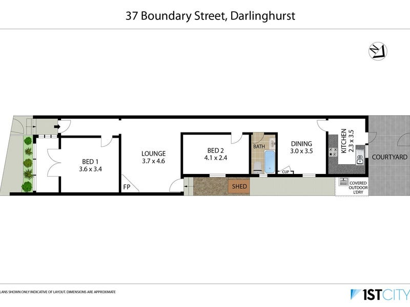 37 Boundary Street, Darlinghurst, NSW 2010 - floorplan