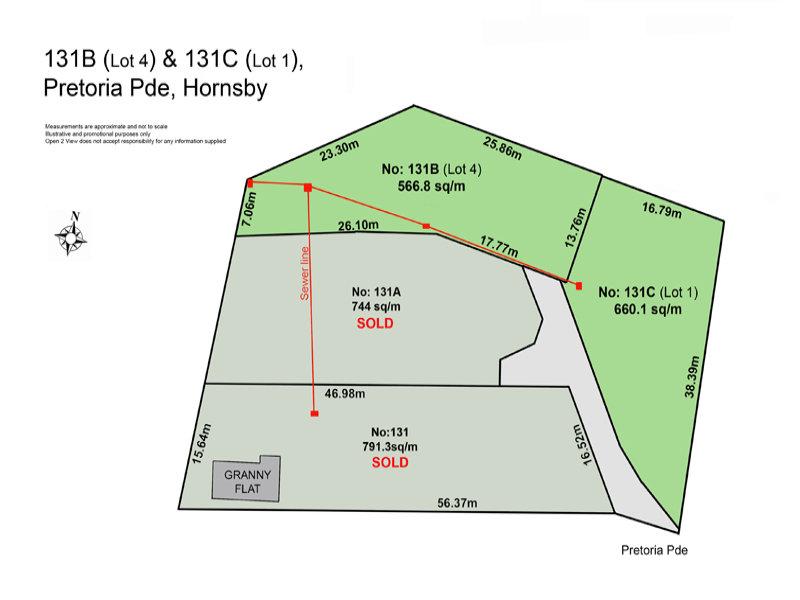 Lot 1,2,4,131 Pretoria Parade, Hornsby, NSW 2077
