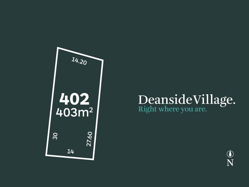 Lot 402, Vel Street, Deanside, Vic 3336