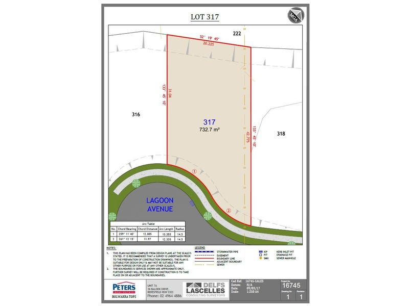 Lot 317 Lagoon Ave, Bolwarra Heights, NSW 2320