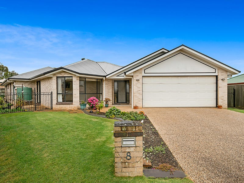 8 Deller Close, Middle Ridge, Qld 4350