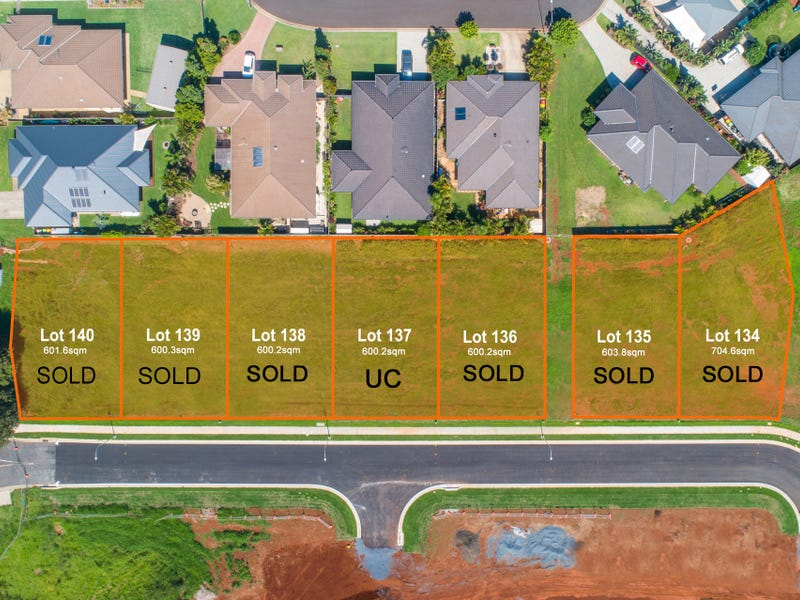 Estate  Stage 5s Lots 131-140 Dundee Avenue, Wollongbar, NSW 2477