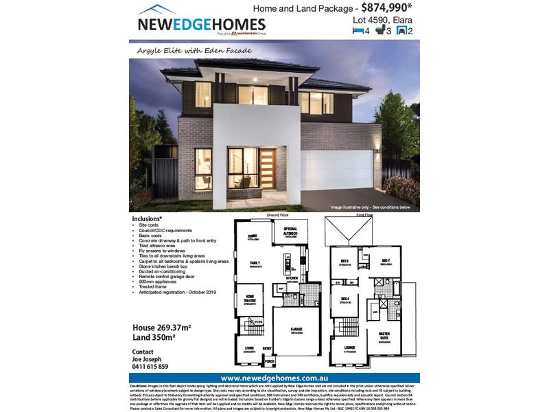 Lot 4590 Proposed Road (Elara), Marsden Park, NSW 2765
