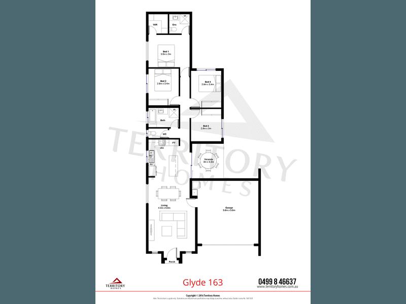 3E Zuccoli Aspire, Zuccoli, NT 0832 - floorplan