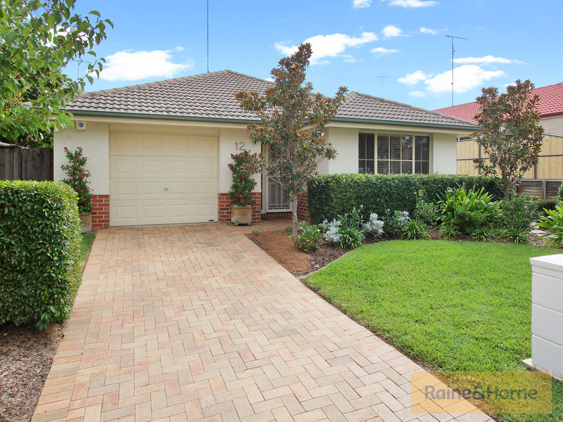12 Exbury Road, Kellyville, NSW 2155