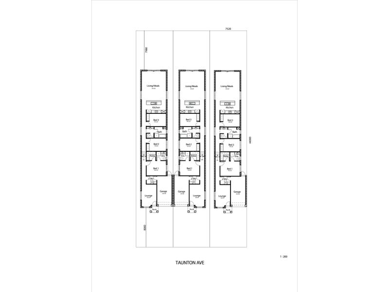 Lot 1, 2 & 3, 2  Taunton Ave, Enfield, SA 5085