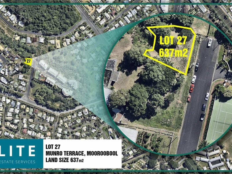 Lot 27, Munro Terrace, Mooroobool