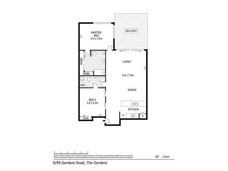 9/99 Gardens Road, Darwin City, NT 0800 - floorplan