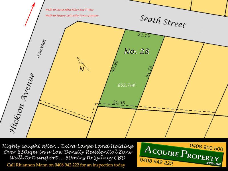 28 Seath Street, Kellyville, NSW 2155