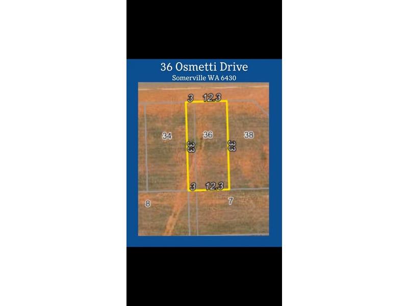 36 Osmetti Drive, Somerville, WA 6430