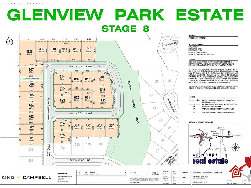 Lot 814, Stage 8 Glenview Park Estate, Wauchope, NSW 2446