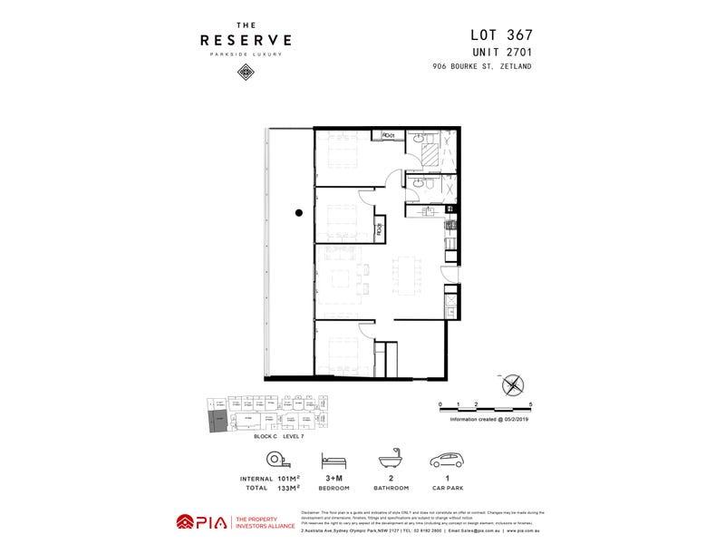 lot 367/8 Kingsborough Way, Zetland, NSW 2017 - floorplan