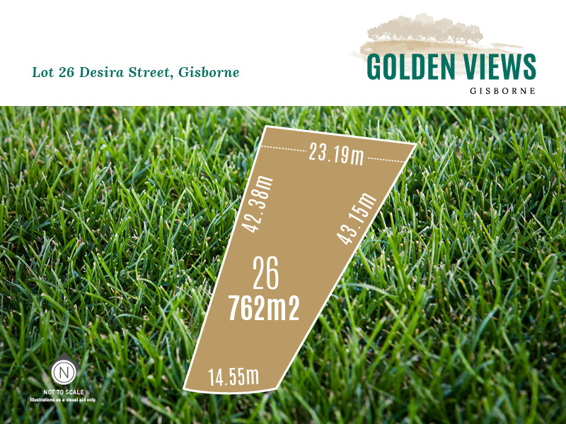 Lot 26, Desira Street (Golden Views), Gisborne, Vic 3437