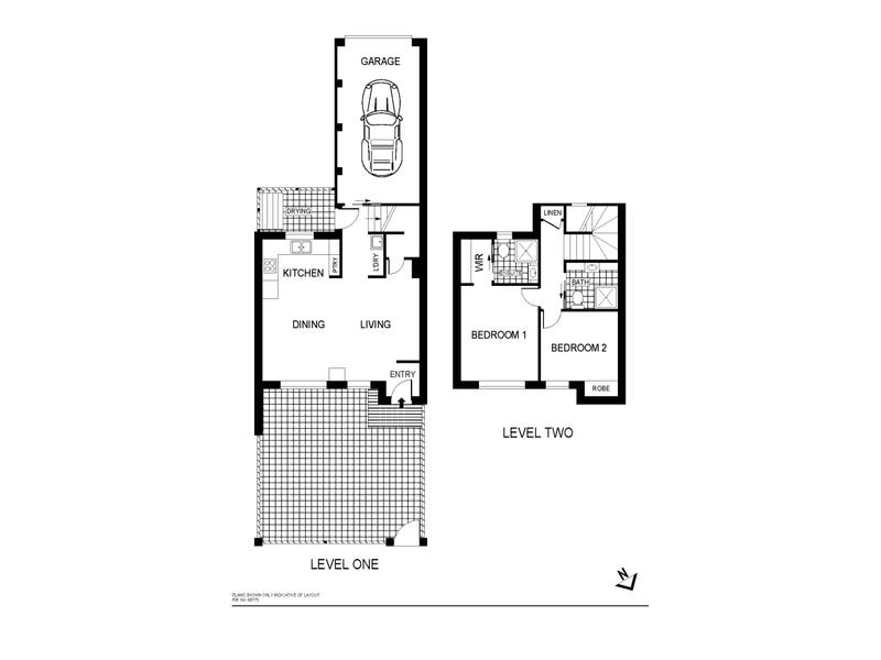 4/17 Luffman Crescent, Gilmore, ACT 2905 - floorplan