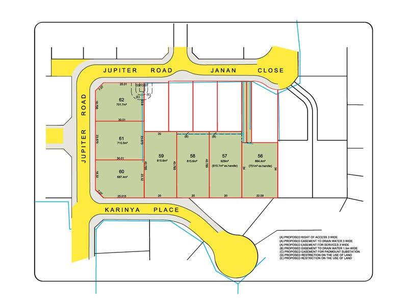 Lots 57-62, 39 Jupiter Road, Kellyville, NSW 2155