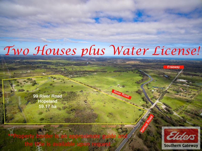 99 River Road, Hopeland, WA 6125
