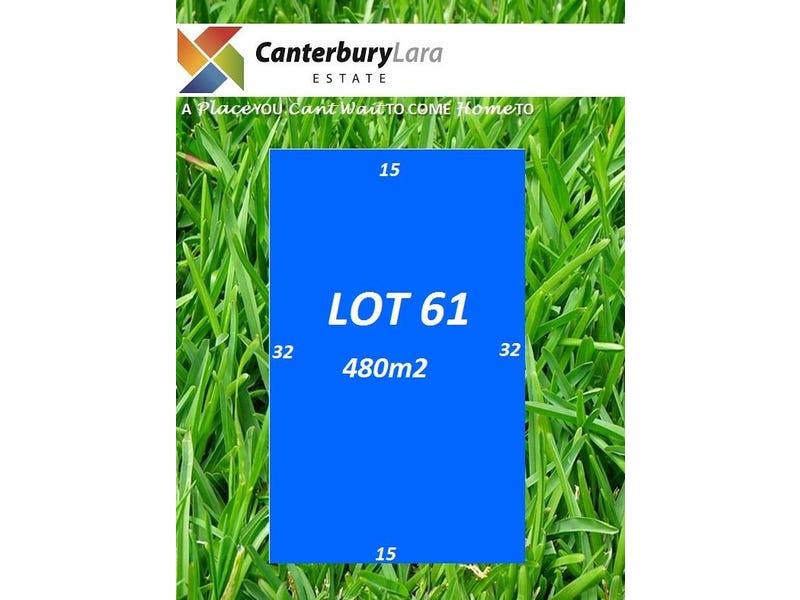 Lot 61  Canterbury Lara Estate, Lara, Vic 3212