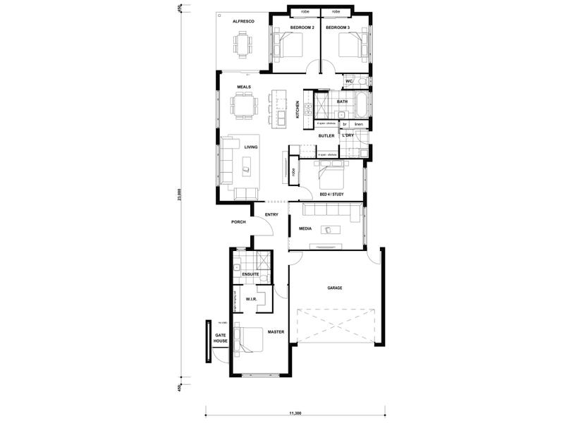 lot/684 Brookhaven Estate, Bahrs Scrub, Qld 4207 - floorplan