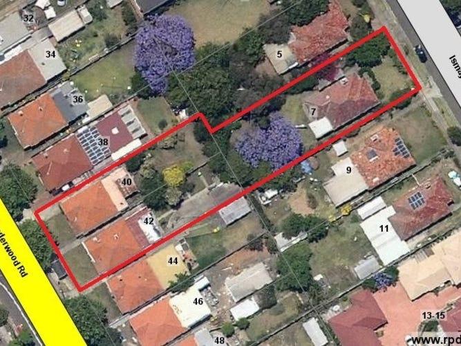 40 & 42 Underwood Road & 7 Ismay Avenue, Homebush, NSW 2140