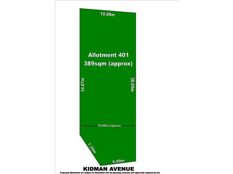 Lot 401, 26  Kidman Avenue, Kidman Park, SA 5025