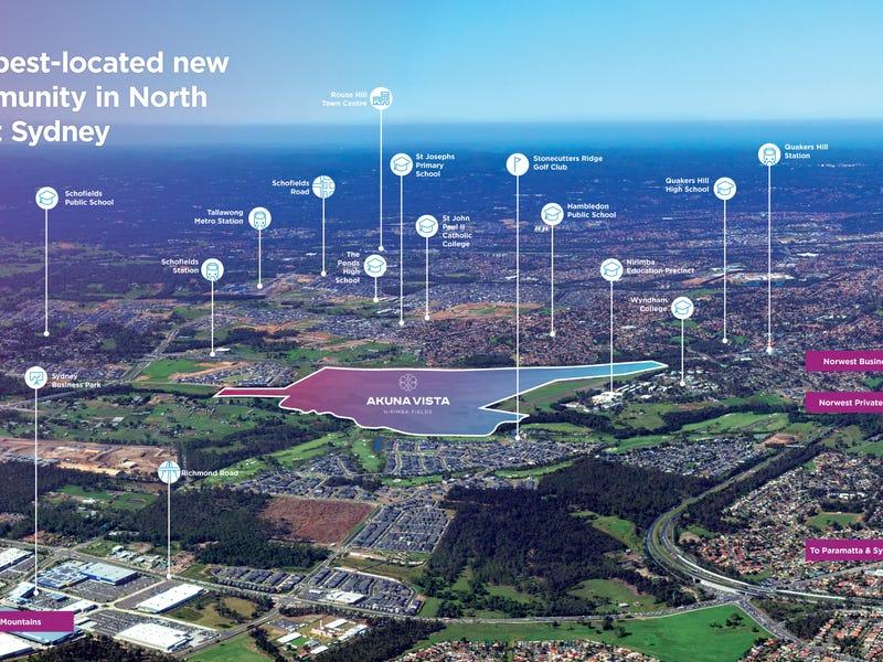 Akuna Vista Cnr Aerodrome Drive and Lockheed Drive, Schofields, NSW 2762