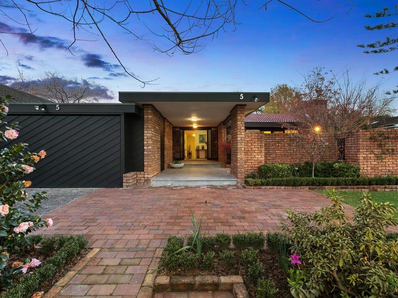 5 Northcote Avenue, Killara, NSW 2071