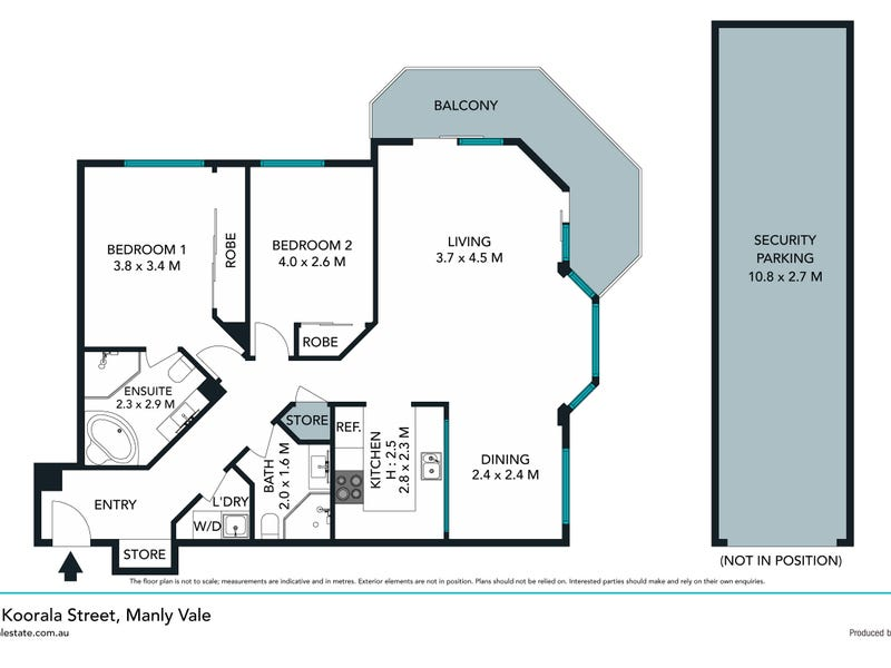 57/8 Koorala Street, Manly Vale, NSW 2093 - floorplan