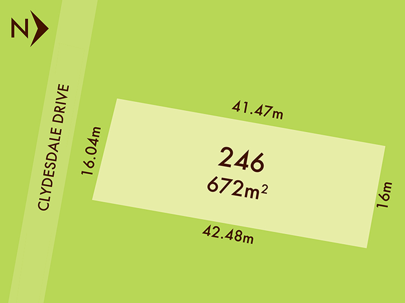 Lot 246, 8 Clydesdale Drive, Bonshaw, Vic 3352