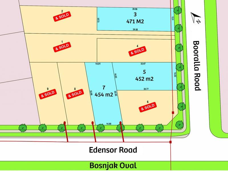 Lot 3, 5 & 7/1 Booralla Road, Edensor Park, NSW 2176