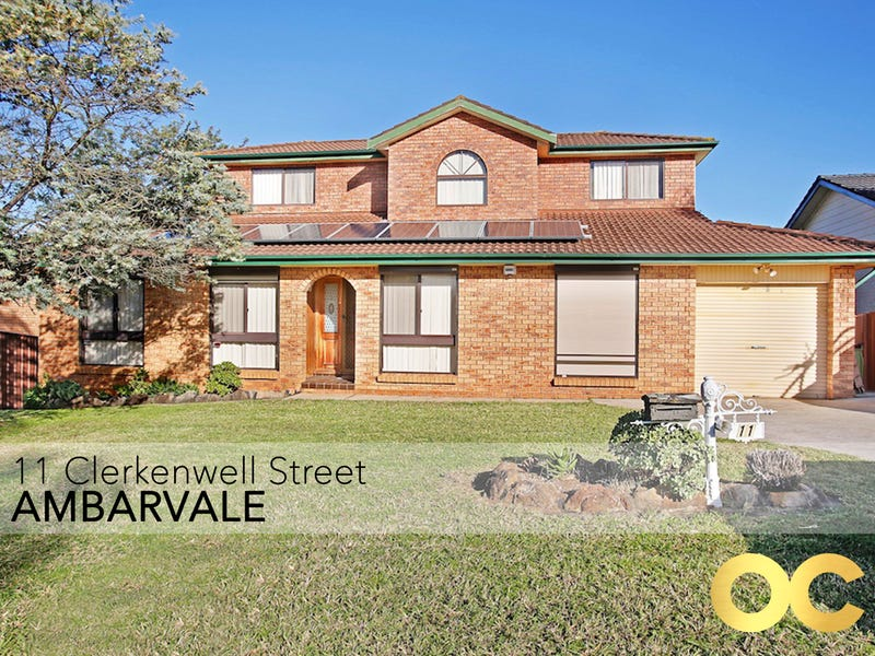 11 Clerkenwell Street, Ambarvale, NSW 2560
