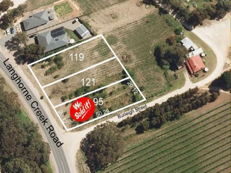 Lot 121 Langhorne Creek Road, Langhorne Creek, SA 5255