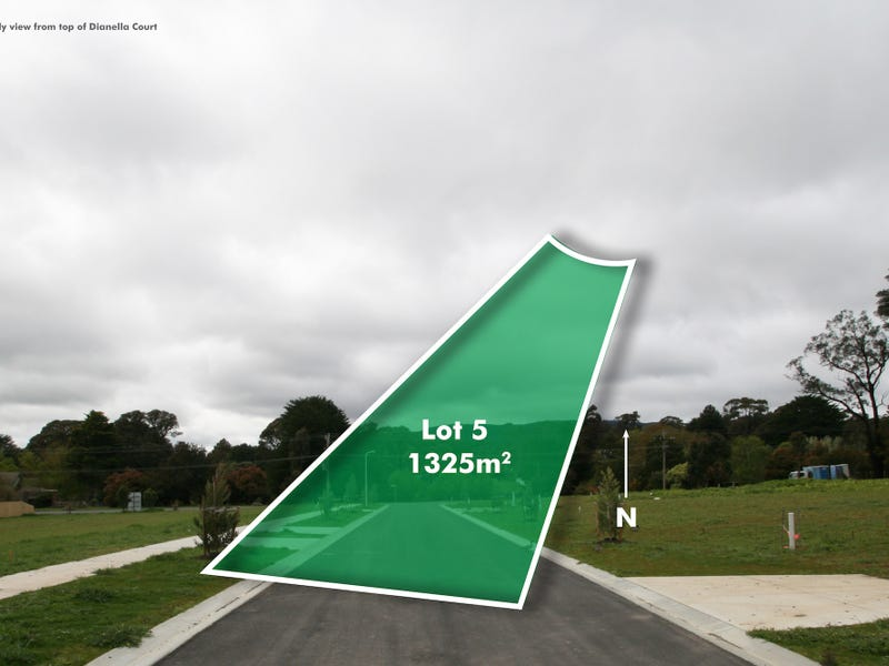 Lot 5, Dianella Cout, Woodend, Vic 3442