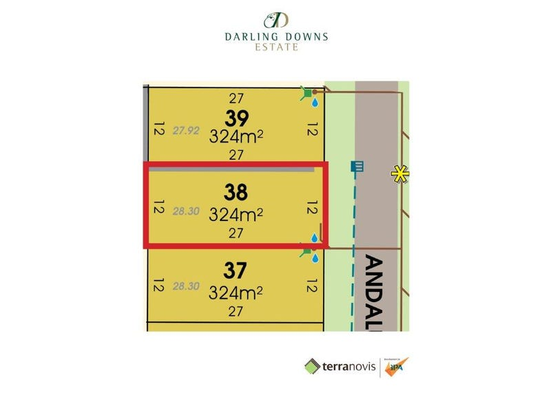 Lot 38 Andalusian Avenue, Darling Downs, Darling Downs
