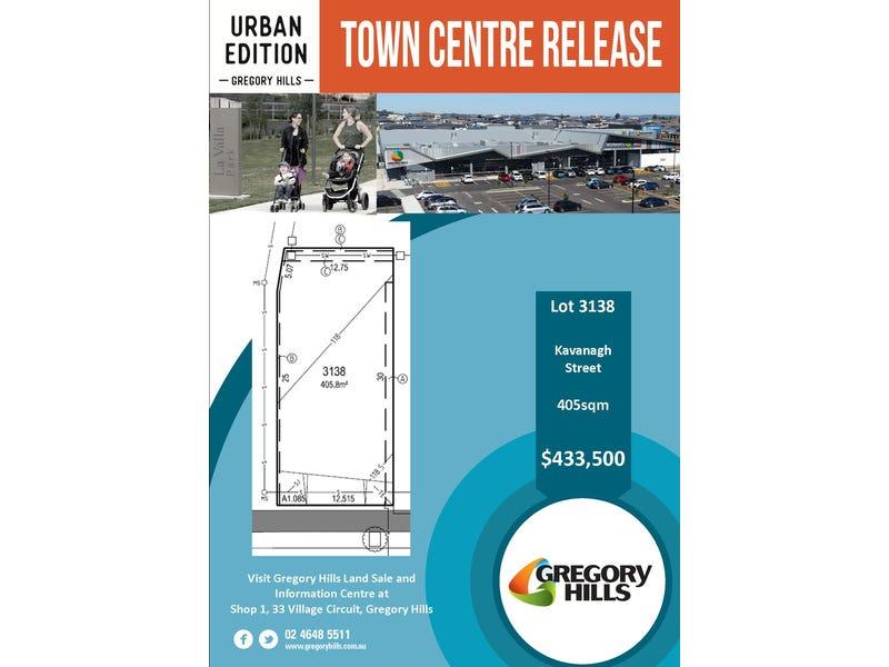 Lot 3138, Kavanagh Street, Gregory Hills, NSW 2557