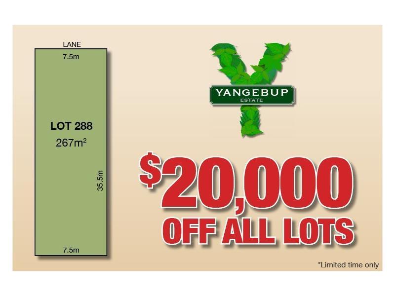 Lot 288  Tramonti Lane, Yangebup, WA 6164