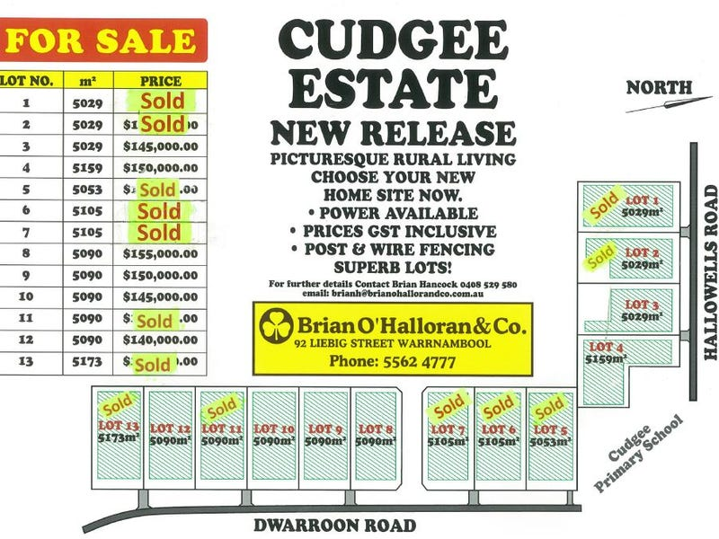 Lot 2-13, Hallowells Road, Cudgee, Vic 3265