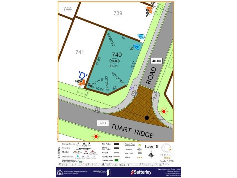 Lot 740, Tuart Ridge, Parmelia, WA 6167