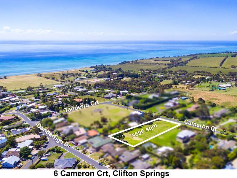 6 Cameron Court, Clifton Springs, Vic 3222