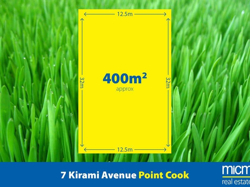 7 Kirami Avenue, Point Cook, Vic 3030